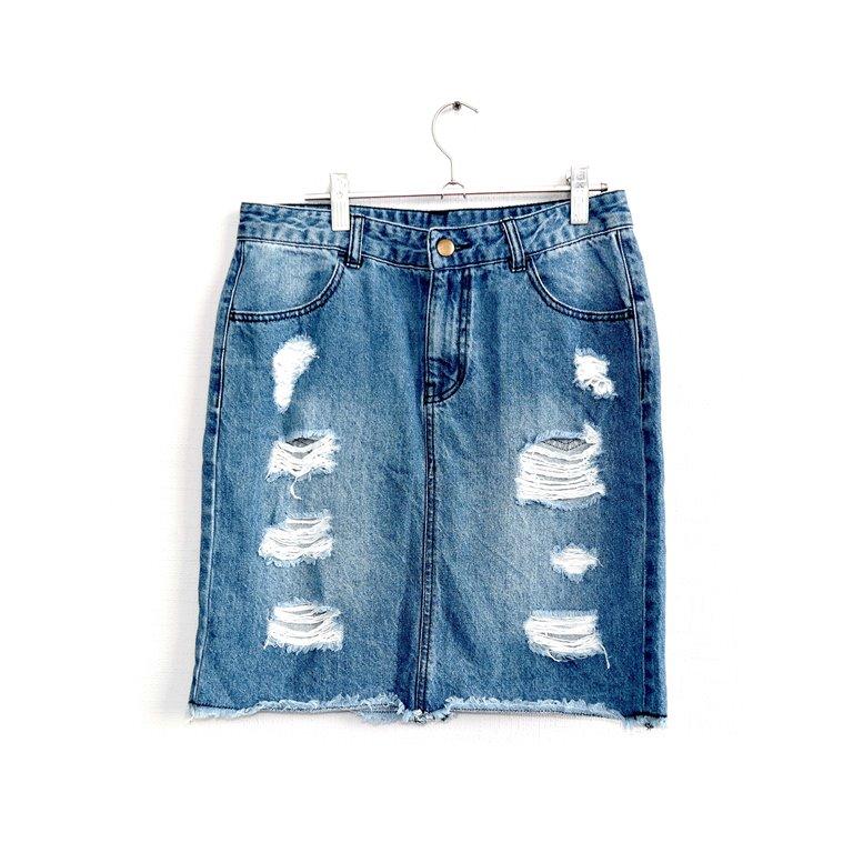 Модная юбка женская джинсовая   в Челябинске