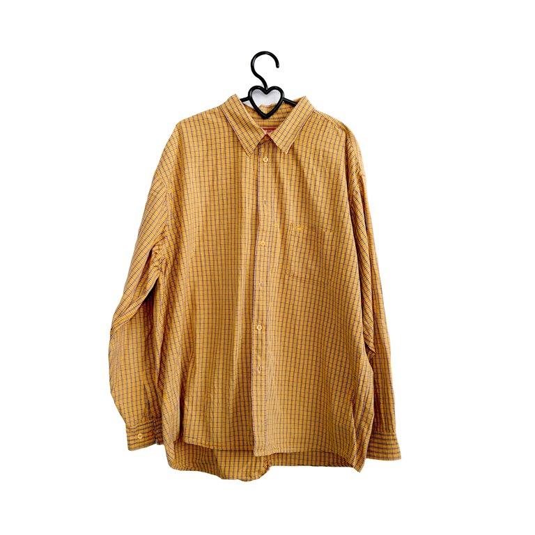 Рубашка мужская горчичная в Челябинске