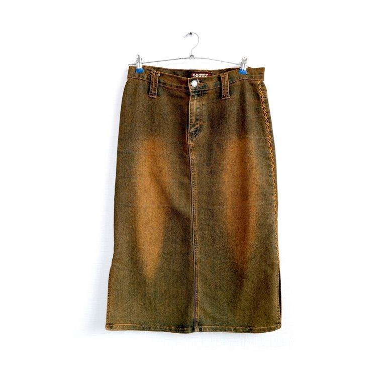Юбка джинсовая женская длинная в Челябинске
